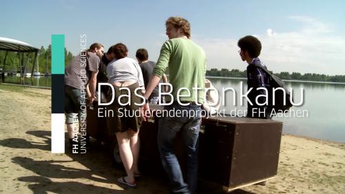 FH Aachen - Das Betonkanu p1
