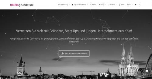 KölnGründet-Website